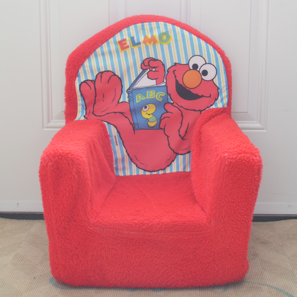 kid plush chair