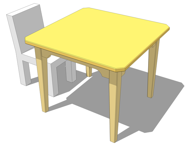 kid table & chair main