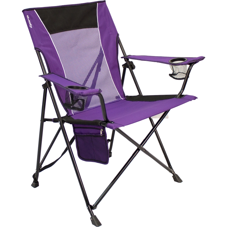 kijaro dual lock folding chair kawachi purple zpsglwxvbgh
