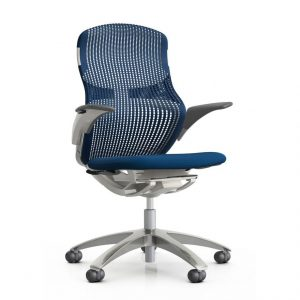 knoll generation chair generation by knoll chair formway design blue marine front palette and parlor x
