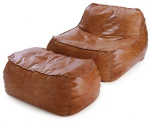 leather bean bag chair contemporary bean bag chairs