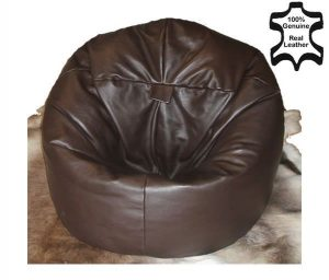leather bean bag chair s l