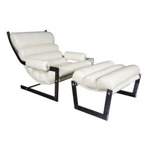 leather chair and ottoman white leather chair org z