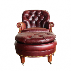 leather chair with ottoman leather club chair with ottoman