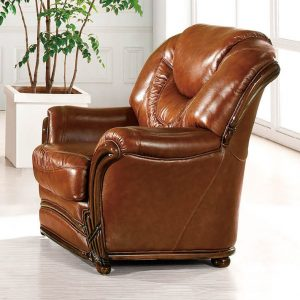 leather livingroom chair esf lrchair