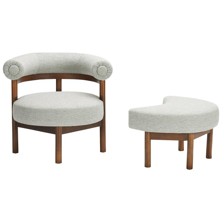 lounge chair and ottoman l
