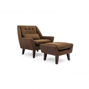 lounge chair and ottoman kardiel stuart lounge chair and ottoman