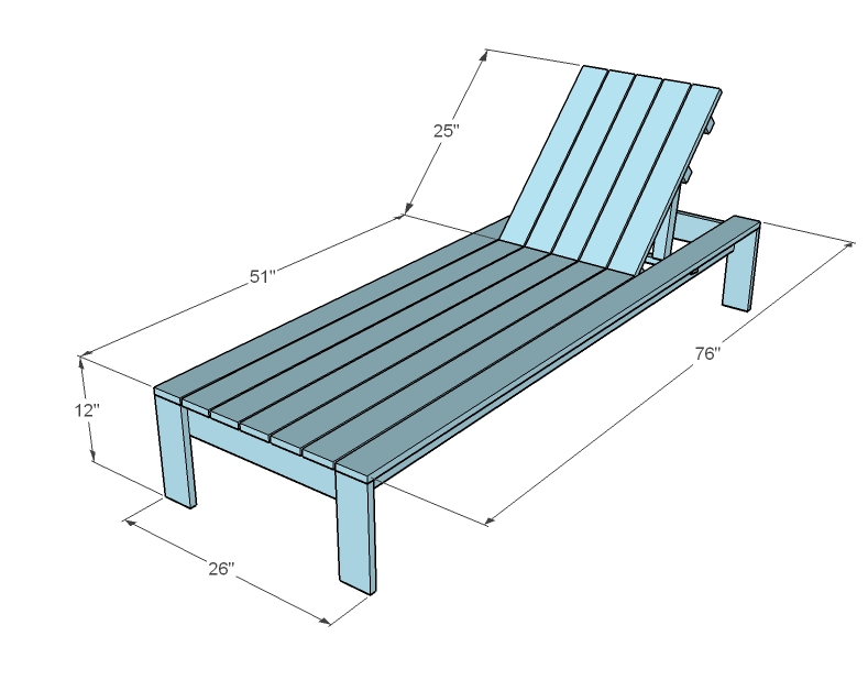 lounge chair dimensions