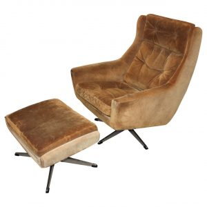 lounge chair with ottoman l