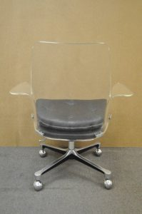 lucite desk chair dsc l