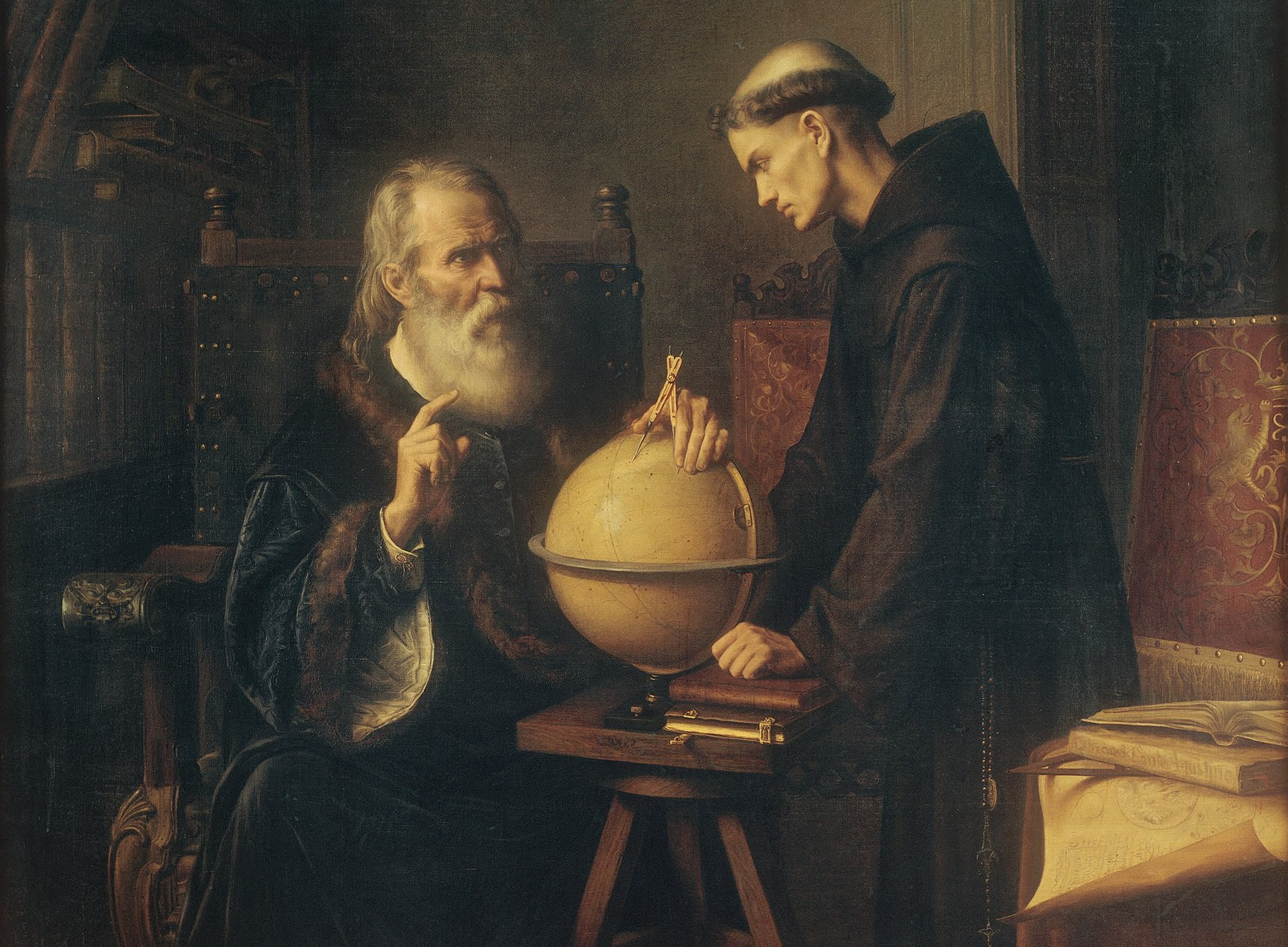 make up chair galileo demonstrating the new astronomical theories at the university of padua google art project e