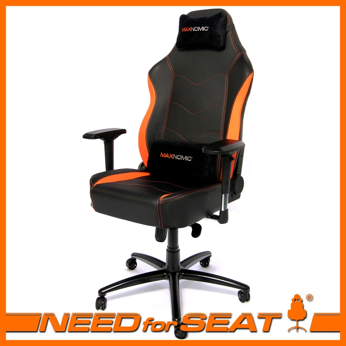 maxnomic chair review titanus orange