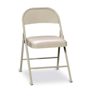 metal folding chair hon white metal folding padded chairs