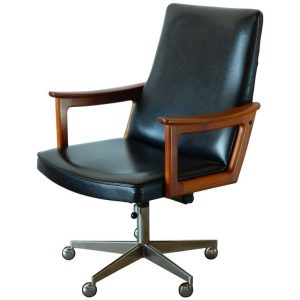 mid century office chair l