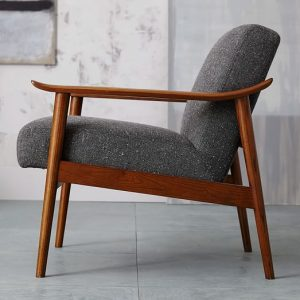 mid century wood chair mid century show wood chair c
