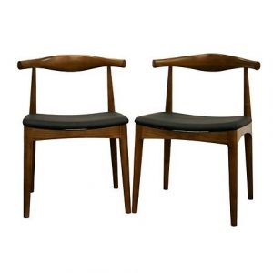 mid century wood chair sonore solid wood mid century style dining chairs d ~