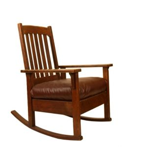 mission style chair