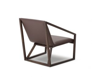 modern lounge chair my taranto modern brown leather lounge chair dsc