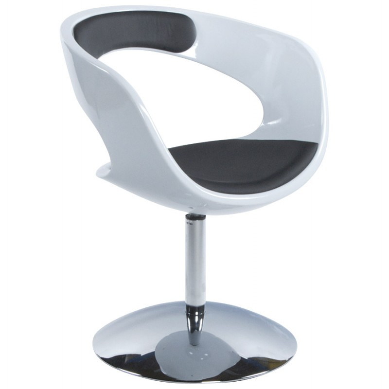 modern swivel chair white and black modern swivel chair zur