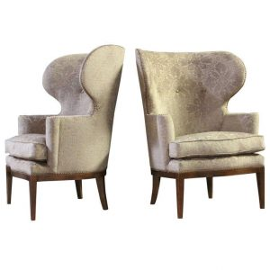 modern wing chair l