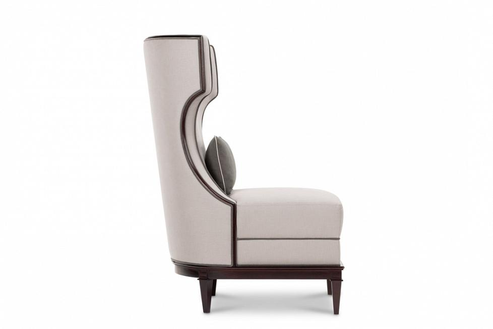 modern wing chair cool modern wing chair