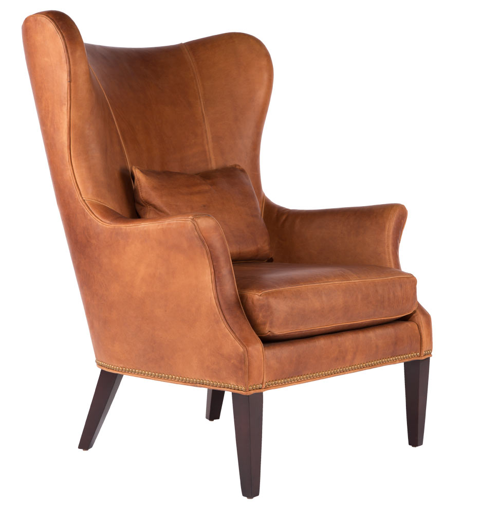 modern wing chair