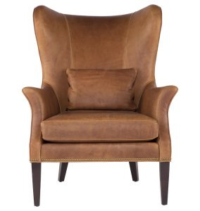 modern wing chair sized d d l