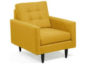 mustard accent chair lmdlm zm