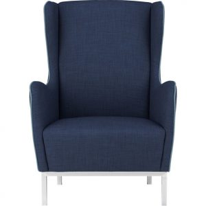 navy wingback chair study wingback chair