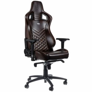noble gaming chair epicrealleather blackbeige