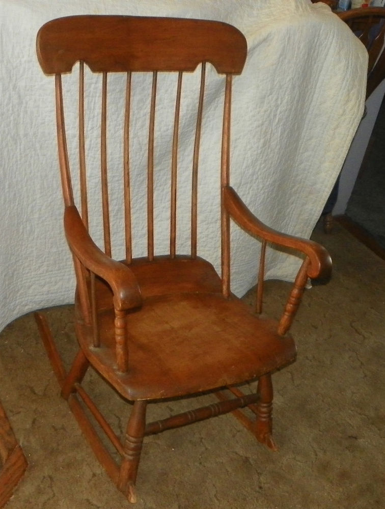 oak rocker chair s l