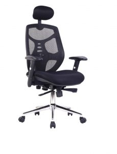 office chair with headrest original