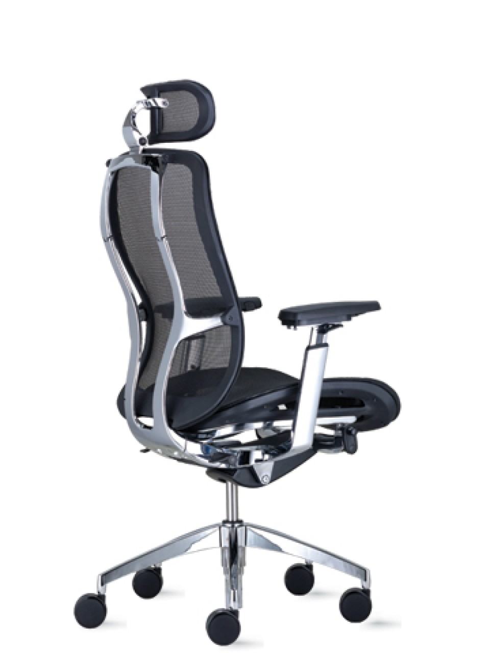 office chair with headrest