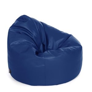 orange bean bag chair chair bean bag faux leather royal blue