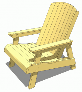 outdoor chair plans main