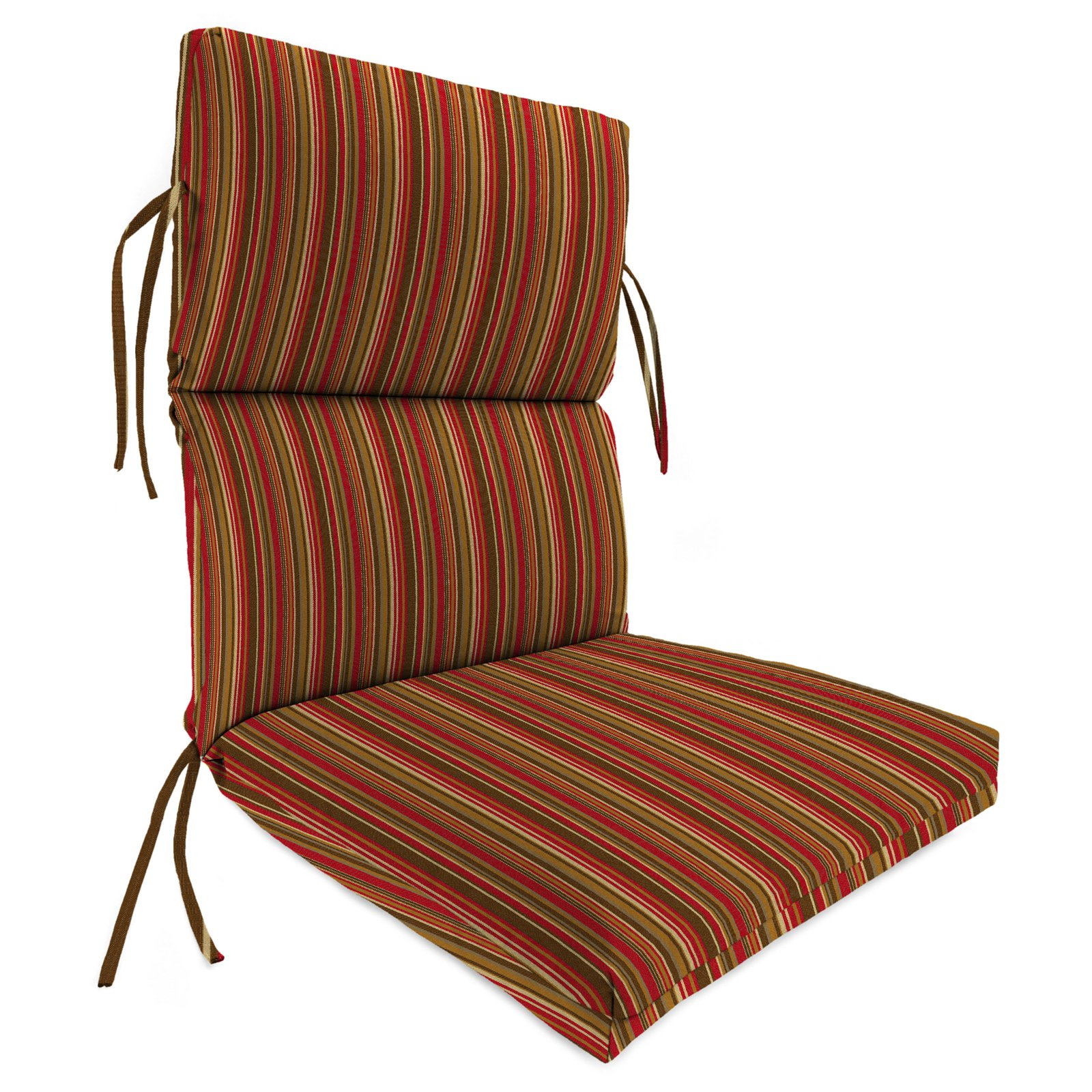 outdoor patio chair cushions high back outdoor chair cushion for patio striped