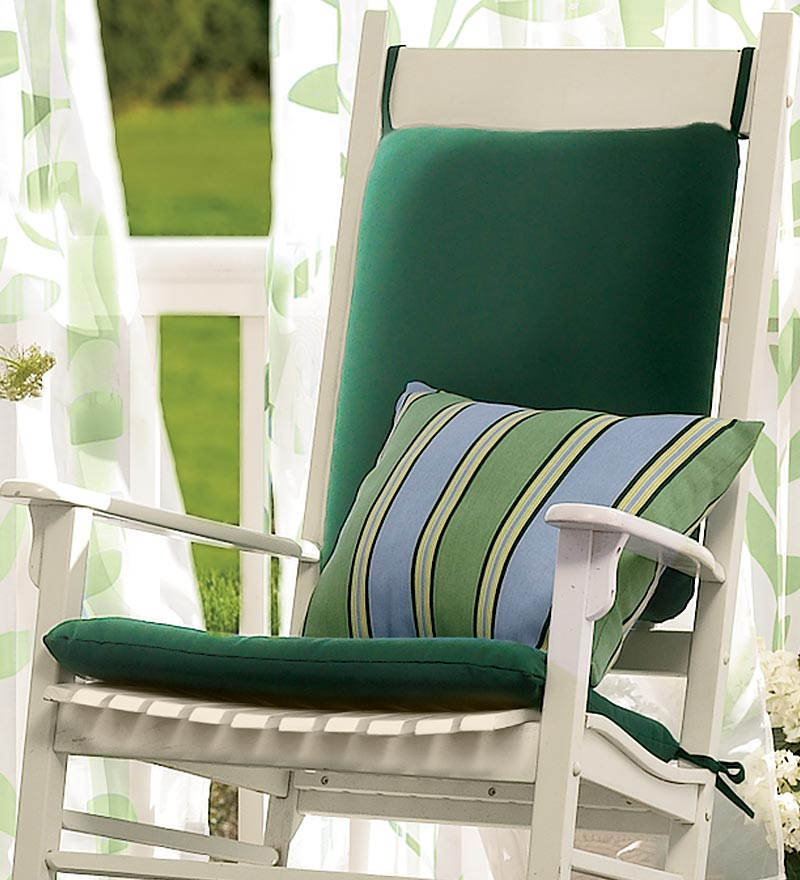 outdoor rocking chair cushions x
