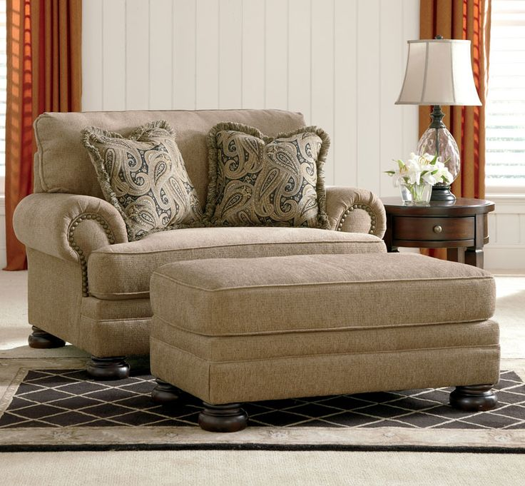 oversized living room chair brown oversized couches living room with ottoman and double pillows