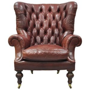 oversized tufted chair l