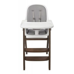oxo sprout high chair oxo tot sprout high chair gray walnut