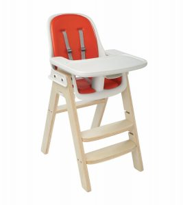 oxo tot sprout high chair oxo tot sprout chair orange birch