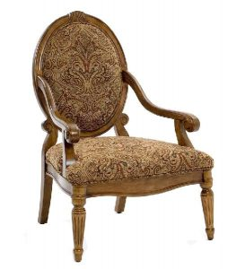 paisley accent chair x
