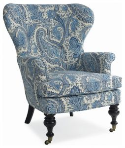 paisley accent chair traditional accent chairs