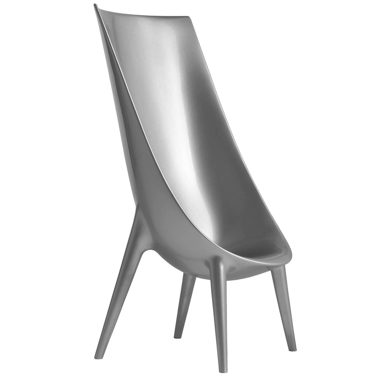 philippe starck chair out in high silver easychair org z