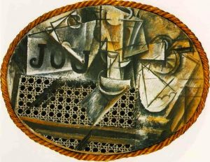 picasso still life with chair caning eaebbadbadffce