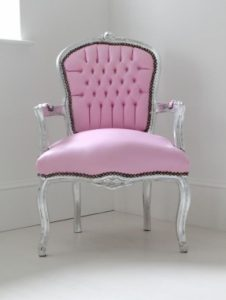 pink bedroom chair light pink bedroom chair baby this could be inspiration for a re do project this chair as it is would be a fun chair amp inspiration for a couture office