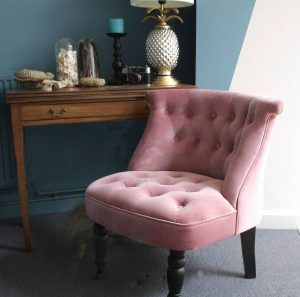 pink bedroom chair original pink velvet bedroom chair