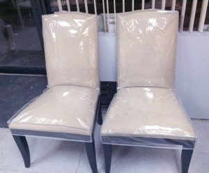 plastic chair covers dining room seat covers plastic