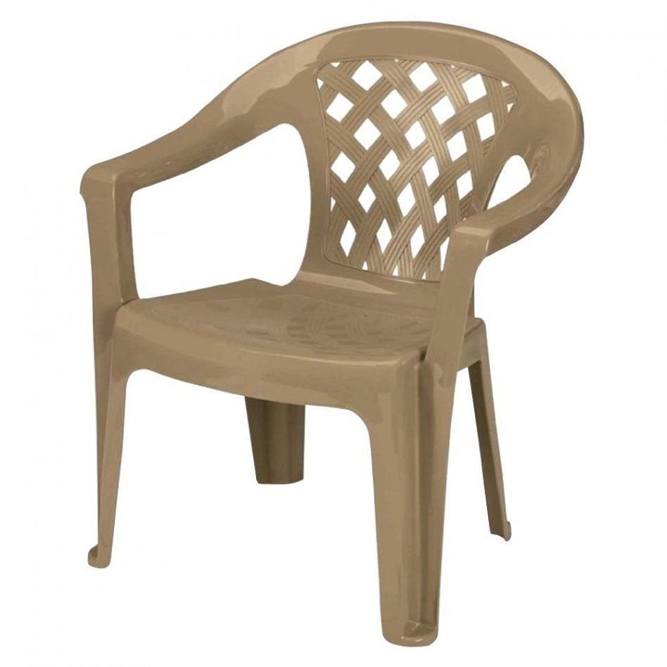plastic patio chair