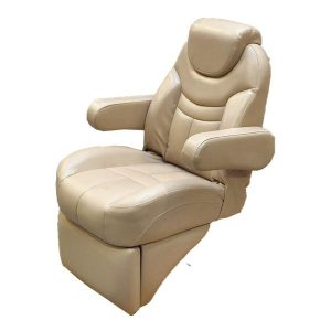 pontoon boat captains chair misty harbor reclining pontoon boat captains chair w footrest
